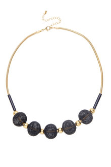 Amber Rose Cora Mesh Ball Necklace