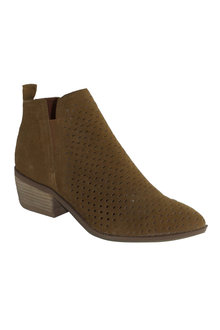Human Premium Cara Suede Ankle Boot - 249001