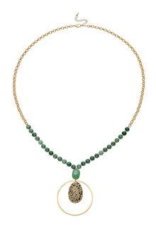 Amber Rose Semi Precious Pendant