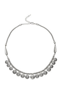 Amber Rose Charm Statement Necklace - 249018