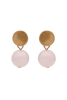Amber Rose Semi Precious Bobble Earring