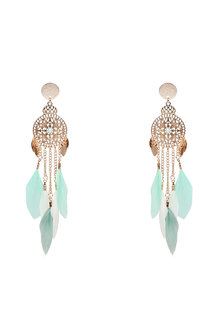 Amber Rose Birds of a Feather Earrings - 249035