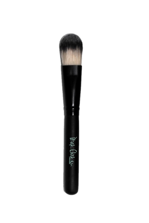 Black Chicken Remedies Face Mask Brush