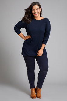 Sara Pocket Front Tunic - 249069