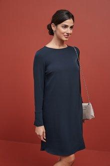 Next Long Sleeve Boxy Dress - 249138