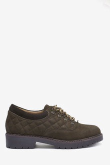 Next Leather Hiker Lace-Up Shoes