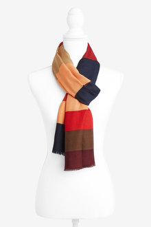 Next Stripe Lightweight Scarf