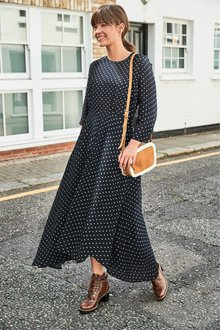 Next Asymmetrical Midi Dress-Tall