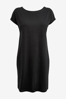 Next Jersey Boxy T-Shirt Dress-Tall