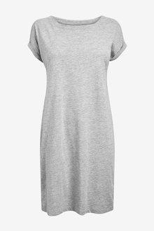 Next Jersey Boxy T-Shirt Dress-Tall