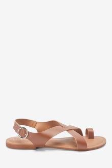 Next Forever Comfort Toe Loop Sandals