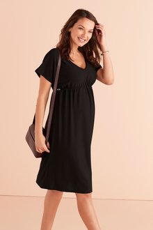 Next Maternity Waisted Dress