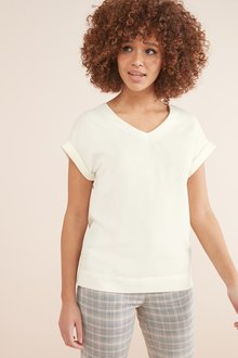 Next V-Neck Boxy T-Shirt