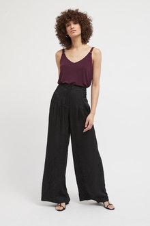 Next Emma Willis Wide Satin Jacquard Trousers