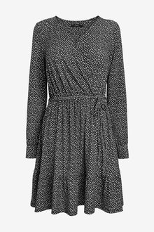 Next Jersey Wrap Dress