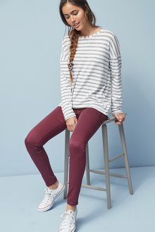 Next Sculpt Pull-On Denim Leggings