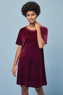 Next Velour Dress - 249474