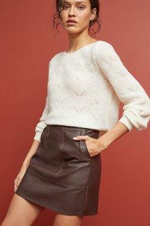 Next Faux Leather Mini Skirt