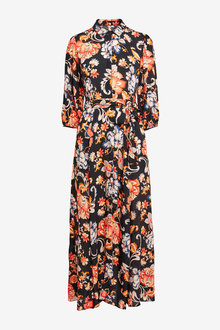 Next Belted Maxi Shirt Dress