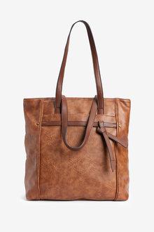 Next Knot Detail Shopper Bag
