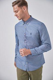 Next Long Sleeve Oxford Shirt