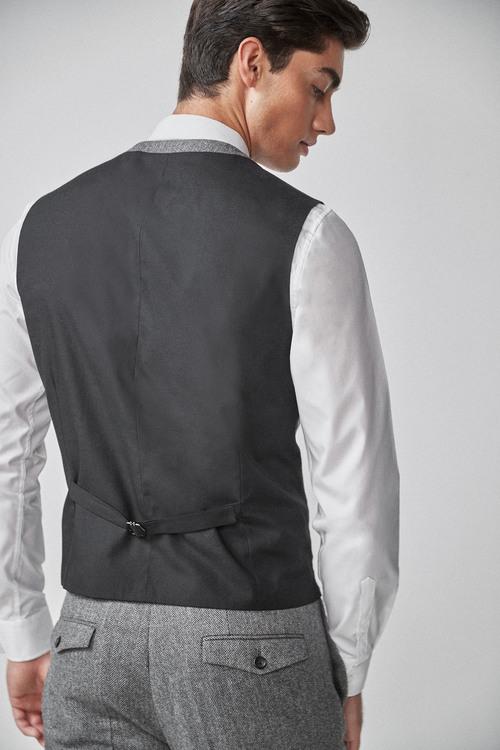 Next Herringbone Suit: Waistcoat