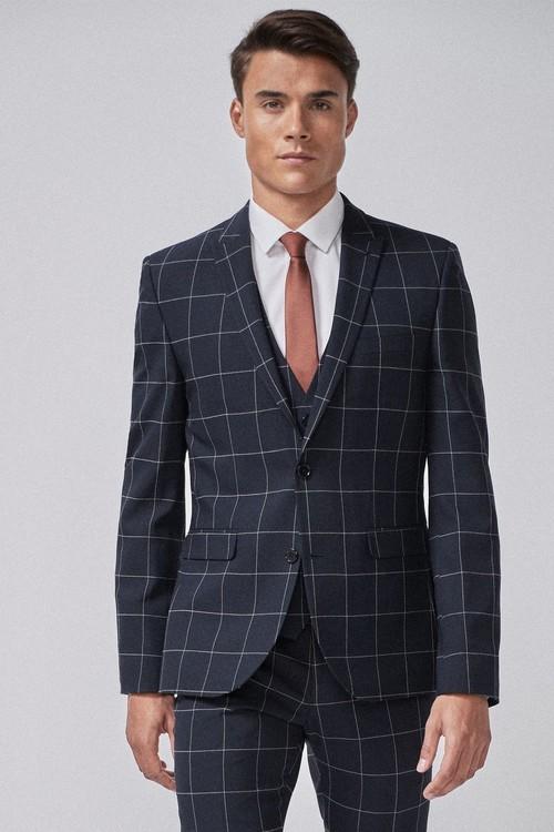 Next Check Suit: Jacket