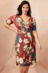Sara Gather Front Dress