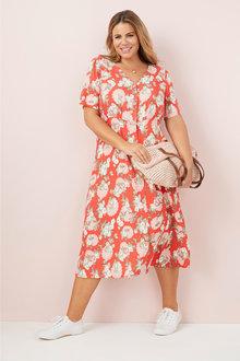 Sara Button Dress - 249580