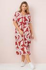 Sara Button Dress