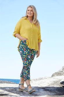 Plus Size - Sara Crinkle Shirt - 249590