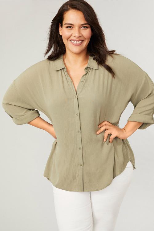 Sara Crinkle Shirt