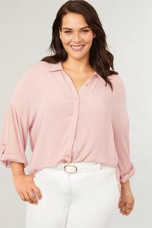 Sara Crinkle Shirt - 249590