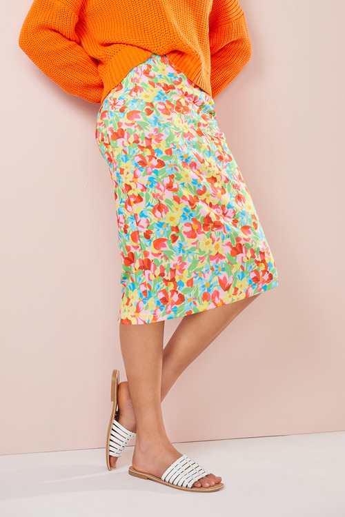 Emerge Scuba Pencil Skirt