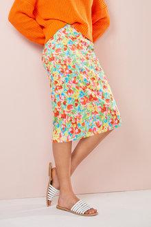 Emerge Scuba Pencil Skirt - 249625