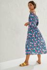 Emerge Shirred Bodice Midi Dress