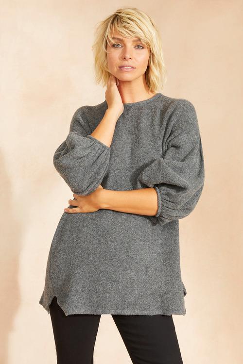 Emerge Balloon Sleeve Sweater
