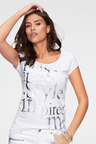 Urban Foil Print T-Shirt