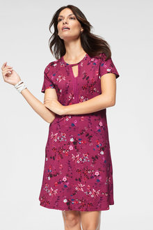 Urban Printed Dress - 249834
