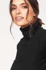 Urban Cotton Roll Neck Top
