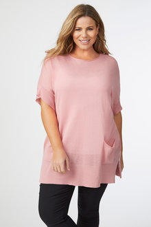 Sara Batwing Pocket Sweater - 249868