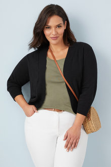 Plus Size - Sara Cotton Cardigan - 249870