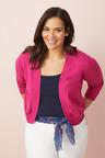 Plus Size - Sara Cotton Cardigan