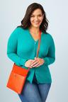 Plus Size - Sara Button Through Cardigan