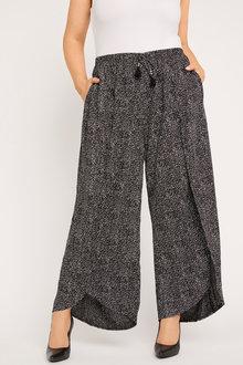 Sara Wide Leg Drape Pant - 249909
