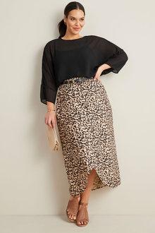Sara Wrap Skirt - 249921