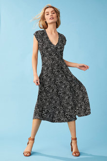 Capture Wrap Dress - 250034