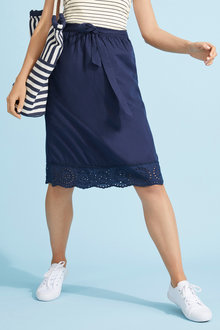 Capture Broderie Hem skirt - 250036