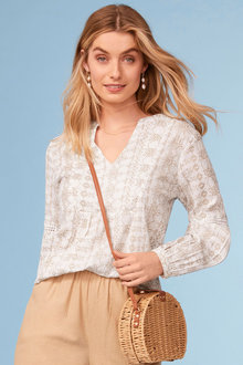 Capture Boho Top - 250038