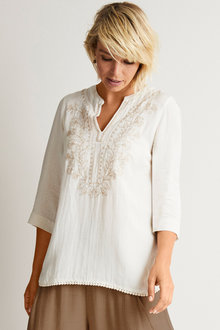 Capture Embroidered Tunic - 250039